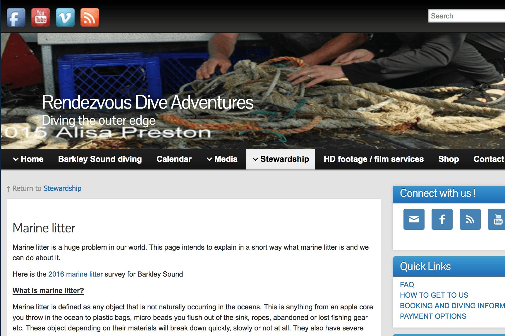 Rendezvous Dive Adventures